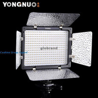 Wholesale GHJB296 Yongnuo YN LED Illumination Dimming Video Light for SLR Camera IR Remote studi