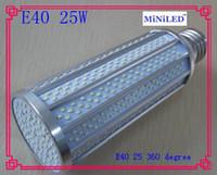25w alloy street lighting - 6SET degree high bright Aluminum Alloy led bulb E40 E27 W led street lamp Corn light Bulb LM Two year warranty