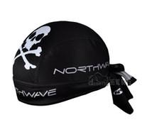 Wholesale NW Skeleton Black Spots cap Bike cap hat cycling sports hats Bicycle Pirate headscarf