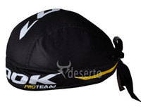Wholesale LOOK Black Spots Bike cap hat cycling sports hats Bicycle Pirate headscarf