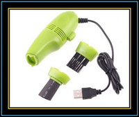 Wholesale MINI USB Vacuum Keyboard Cleaner for PC Laptop freeshipping Dropshipping