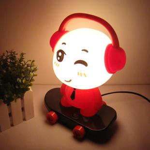 Nice Cartoon Gift Light Cute Creative Lighting DJ Dolls Energy Saving Lamps  Children Bedroom Bedside Lamp Table Lamp Night Lights Best Gift Online With  ...