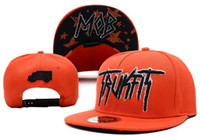 Wholesale Trukfit Mob Snapback Red obey cap basketball snapback strap back snake skin ny caps fitted hats