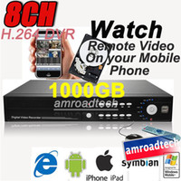1set 8CH H. 264 CCTV Standalone DVR + 1000GB HDD Surveillance ...