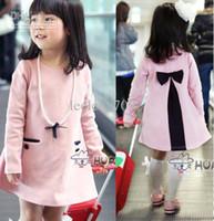 Korean baby girl kids spring autumn soft cotton princess dre...