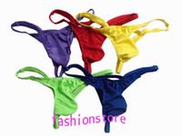 Wholesale Super Sexy New Men s Pouch underwear Thong G strings Mens Briefs