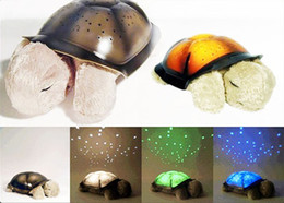 Wholesale 2013 New Twilight Turtle Night Light Stars Lamp Baby Care Piece