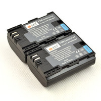 Wholesale 2PCS Battery LP E6 LPE6 for Canon D Mark III EOS D D D D with EF IS