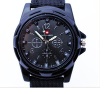 Wholesale HOT sale Luxury Analog new fashion TRENDY SPORT MILITARY STYLE WRIST WATCH for MEN watch BLACK WHITE