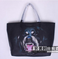Wholesale The Seiko new Rottweiler hound dog s head shopping tote bag shoulder bag