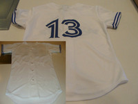 Wholesale White Baseball Jerseys Cool Base Jersey Authentic Sportswear Jersey Dhdate Jerseys