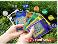 Wholesale Slim Multifunction Transparent Green Solar Touch Screen Calculator colors