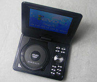 portable dvd - Fm radio mp3 plays Inch Portable DVD Player and Swivel Screen TV entertainment center USB