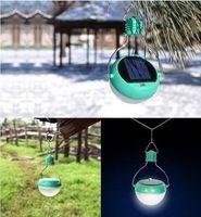 solar indoor light - Lantern LED Solar Power Camping Camp Bulb Light Waterproof Indoor Outdoor Lamp