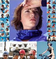 Wholesale Multifunctional scarf Headband Outdoor Sports Turban Sunscreen Magic Veil Bicycle Seamless bandana
