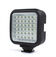 Wholesale New LED Professional Video Light LED for DV Camcorder Camera E2026A