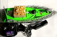 Wholesale RC Bait Fishing Boat working distance m hours Green Car charger