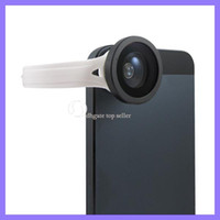 Wholesale H8002 Fish Eye Lens Clip For iphone Camera lens With Degree cell phone fish eye lens