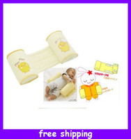 Wholesale Baby Infant Anti Roll Safe Side sleeping Pillow Sleeping Waist and Head Positioner