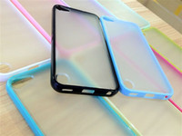 Wholesale Soft Silicon Case Outer Matte Hybrid Hard PC TPU Gel Case Back Cover Skin For IPod Touch