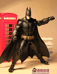 Wholesale retail the dark knight rises inches batman action design figures doll toy movie version PVC
