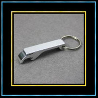 Wholesale Mini Key Chain New Aluminum Beer Bottle Opener Corkscrew Small Siliver X20pcs