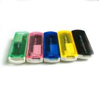 Wholesale All in Multi Cards In Micro SD TF M2 camera SD Memory Stick M2 MINI SD Card Reader