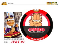 Wholesale BEST SELLER Genuine Garfield Leopard series wheel cover cartoon car steering wheel cover red