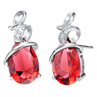 Wholesale Good news buy get buy best sell Platinum Plated earring gift you free necklace