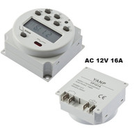 Wholesale Digital LCD Power Programmable Timer Time Switch Relay AC V A