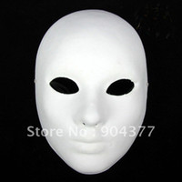 paper mache - Blank Paper Mache Masks Full Face For Decorating Net weight g mix Free
