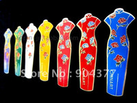 Wholesale 10 piece pack Chinese Style Cloisonne Metal Retro Personalized Refrigerator Magnets mix color