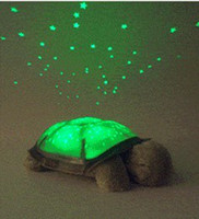 Wholesale music twilight Kid Baby Sleep Turtle Night Light Stars Led Lamp Projector night sky constellations