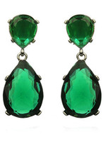 Wholesale 2013 Popular emerald red carpet earrings Luxury Lady Night Party Jewelry Earrings T12022870