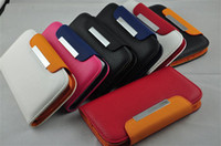 galaxy - Double Colors Leather Wallet Case for i9300 Case for Samsung i9300 Galaxy S3 S III