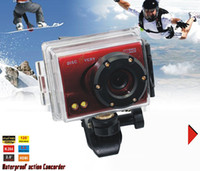 Wholesale 2013 NEW Full HD P Mini Helmet Waterproof Sports Action Camera camcorder MP DV HDMI D20