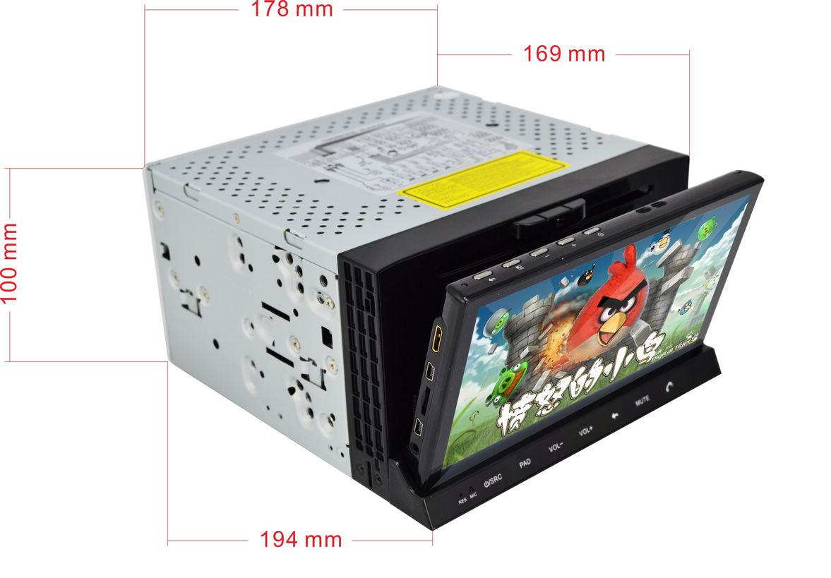 Double Din Android 2 3 Car Pc Universal Indash 2 Din