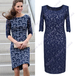 Wholesale New Elegant Lace Dress Lady Skirt Women s Short Sleeve Dress Three Size Agood