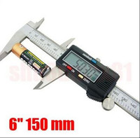 Wholesale Brand New inch LCD Digital Vernier Caliper Micrometer Guage