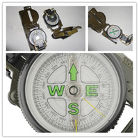 Wholesale US USGI Military DC45 A B Triple Magnetic Tritium Stocker Camping Lensatic Compass
