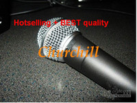 Wholesale AAAA quality Professional wired dynamic Microphones for KTV meeting On stage Performance