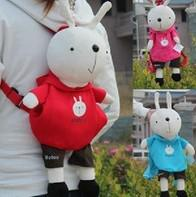 Wholesale Metoo Rabbit BAG Plush Children Kid s Kindergarten Backpack Messenger BAG Pack Shoulder BAG Pouch