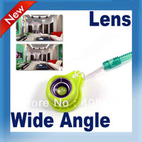 Wholesale Jelly Wide Angle Lens Fish Eye for Cell Phone iPhone Compact Digital Camera free shopping