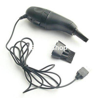 Wholesale pieces a MINI USB VACUUM KEYBOARD CLEANER for PC LAPTOP E068