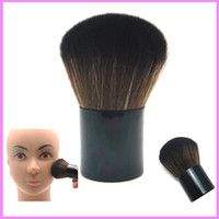 Wholesale Beauty Kabuki Makeup Cosmestic Large Face Mineral Powder Foundation Blush Brush