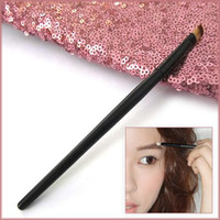Wholesale Pro Eyebrow Brow Shadow Powder Eyeliner Angle Eye Makeup Brush Pen Beauty Handle