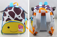 Wholesale school backpack the new style backpack fasion and cute baby s school bags cavas bags