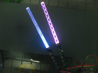 Wholesale Party supplies LED Light Sticks Flashing Lighted novelty toys transparent Concert cheer Flash stick