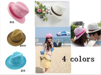 Wholesale 2013 fashion lover sun hats beach hats straw hats for women men colors Freeshipping