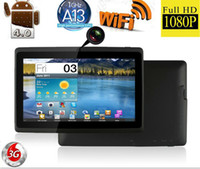 Wholesale Newest Android Tablet Inch Q88 Capacitive Screen Allwinner A13 M GB Google MID